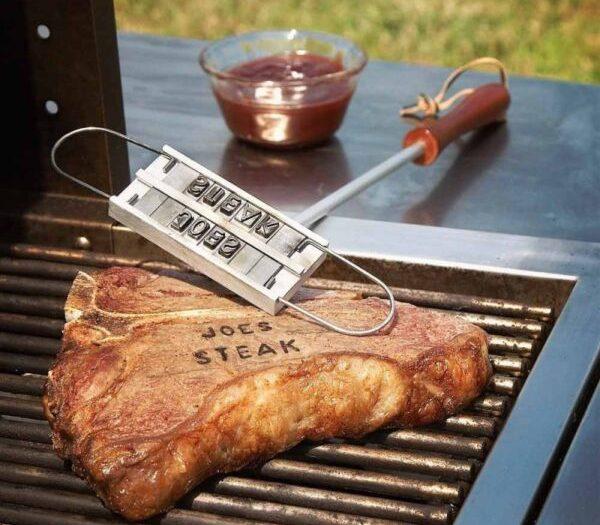 BBQ brændejern til kød