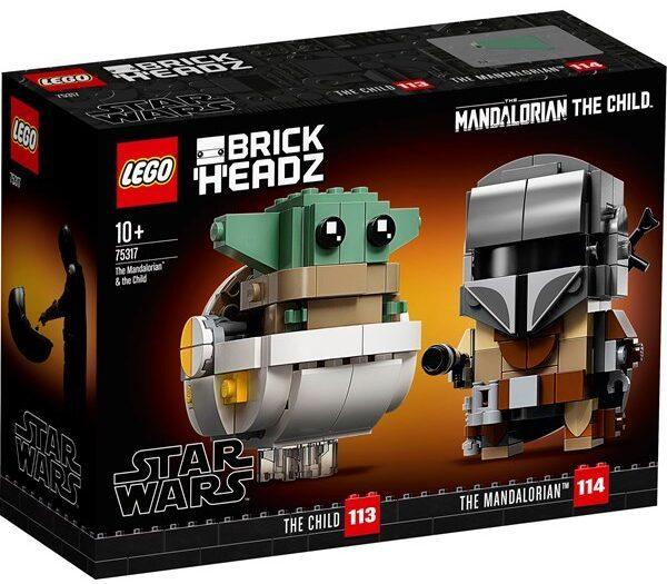 LEGO Star Wars 75317 Mandalorianeren og Barnet