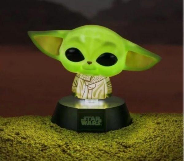 Lille Baby Yoda lampe