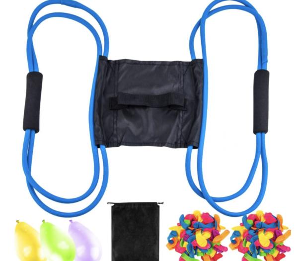 XL Slangebøsse til vandballoner - 3 personers